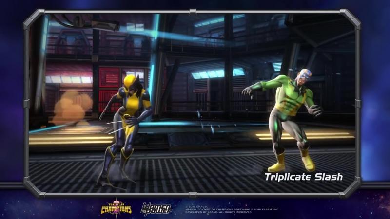 Wolverine X 23 Росомаха X 23 Marvel Contest of Champions