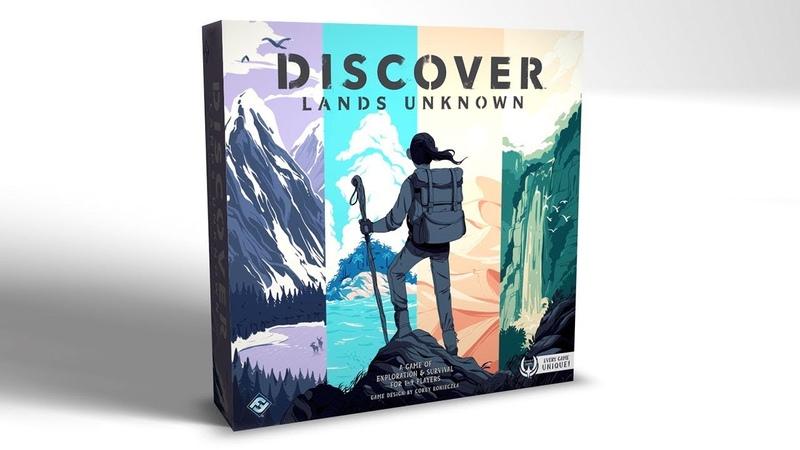 Discover Lands Unknown англоязычный трейлер