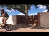Shadow rider Trey Jones BMX Wallride