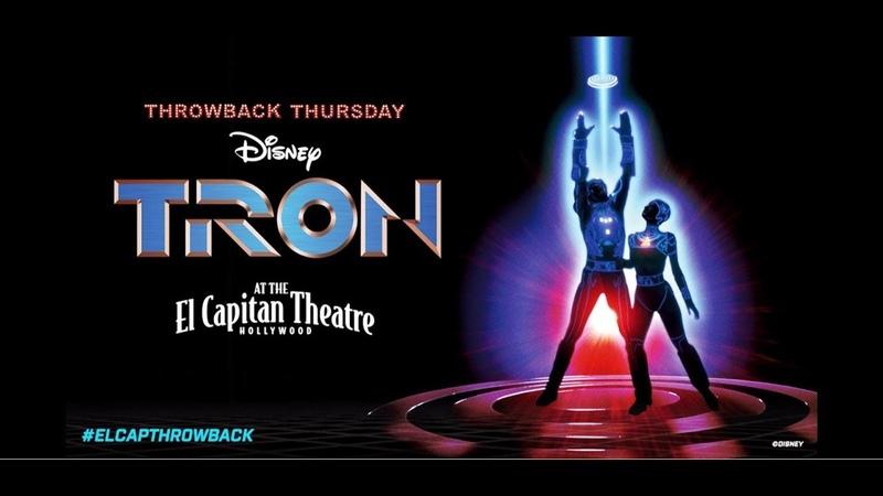 TRON 35th Anniversary Panel at The El Capitan Theatre