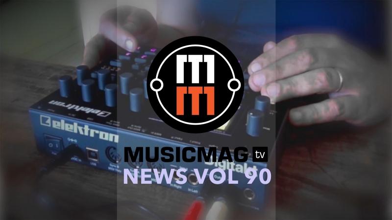 MUSICMAG TV NEWS 90 Oto Boum, Focal Shape Twin, Digitakt OS.05 и др.