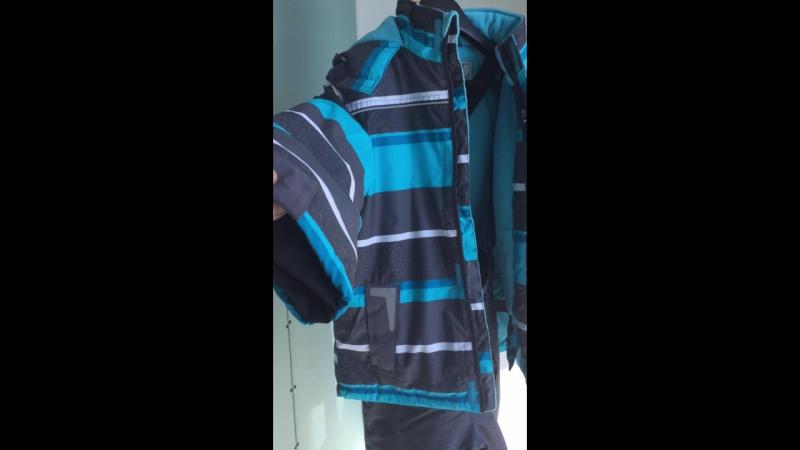 ЗИМА Mingkids Зима Дети Верхняя Одежда мальчик Спортивный Лыжный Костюм Водонепроницаемый Ветрозащитный
