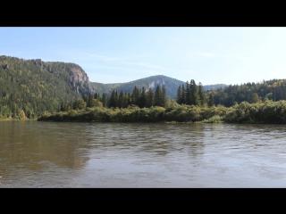 Рыбалка это не мое. Река Мана, приток Енисея.