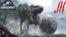 Открыл второй остров и покормил дино Jurassic World Evolution