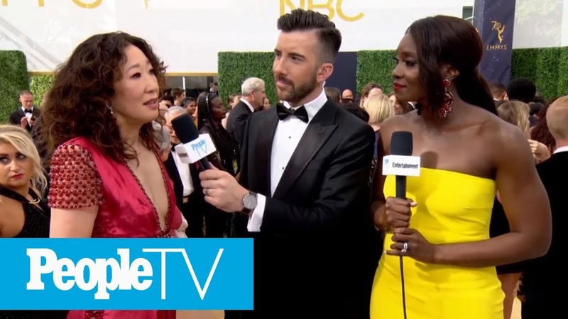 Sandra Oh Gets Emotional Discussing Her Historic Emmy Nomination | Emmys 2018 | Entertainment Weekly