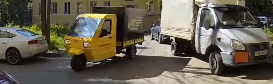 В России создали грузовичок за 250 000 рублей