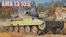 AMX 13 105 Должен Был Светить А Пришлось Тащить 1vs5 * Карелия