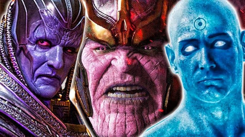 КТО СИЛЬНЕЕ? Танос VS Доктор Манхэттен VS Апокалипсис