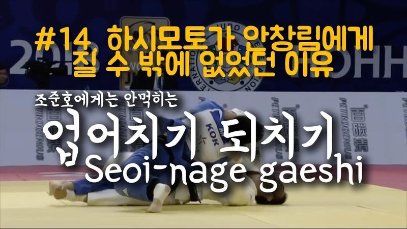 [한판TV] 하시모토가 안창림에게 질 수 밖에 없었던 이유 업어치기 되치기(Seoi-nage gaesh