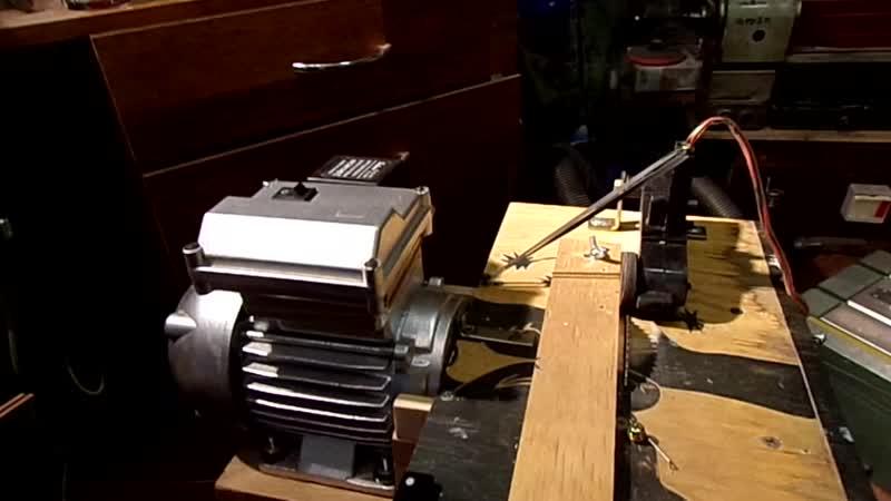 модернизация циркулярного станка с добавлением электро привода