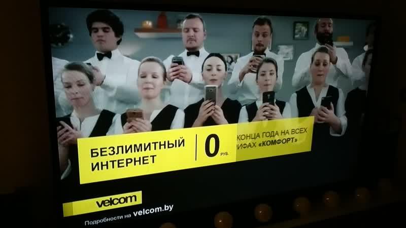 Салютарис снялся в рекламе velcom