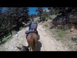 Trail riding in Turkey