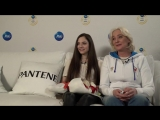 Team Russia  P&ampG  Online-videoconference with Evgenia Medvedeva and her mother  24022018