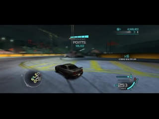 NFS Carbon Drift \ Main Street(6 laps) \ Golddust vs Sloven \ Final