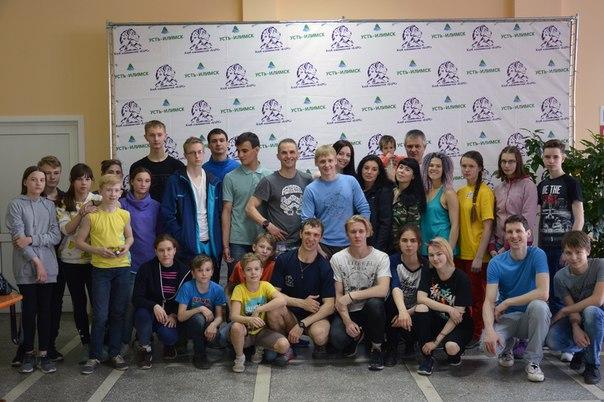 В Усть-Илимске состоялся открытый городской фестиваль скалолазания
