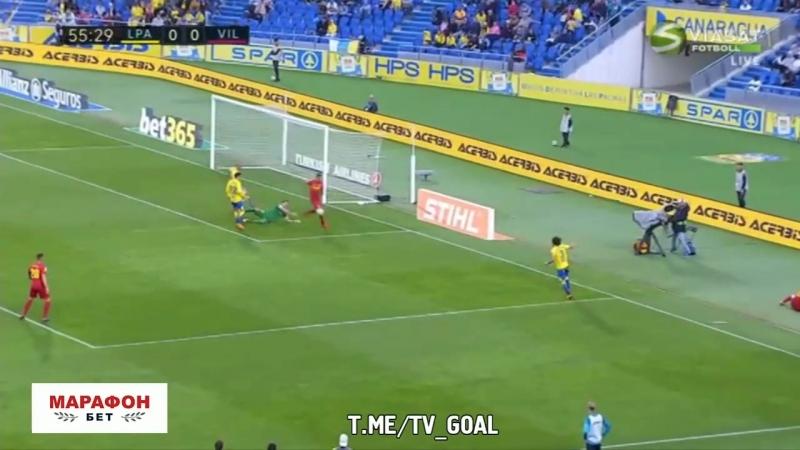 Лас-Пальмас 0:2 Вильярреал | Обзор матча