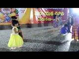 children playing on dias at Ganesh Festival1