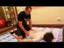 При массаже разминается все мышцы от пальчиков ног до головы !