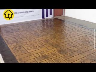 Кладка на бетонной стяжке