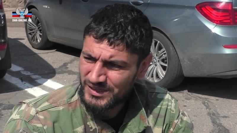 Донецк 19 мая 2014 Военнослужащие армии ДНР о погибшем Мамае