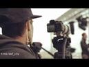 Оператор канала «Москва 24» снимает интервью Сергея Собянина с лапшой на ушах