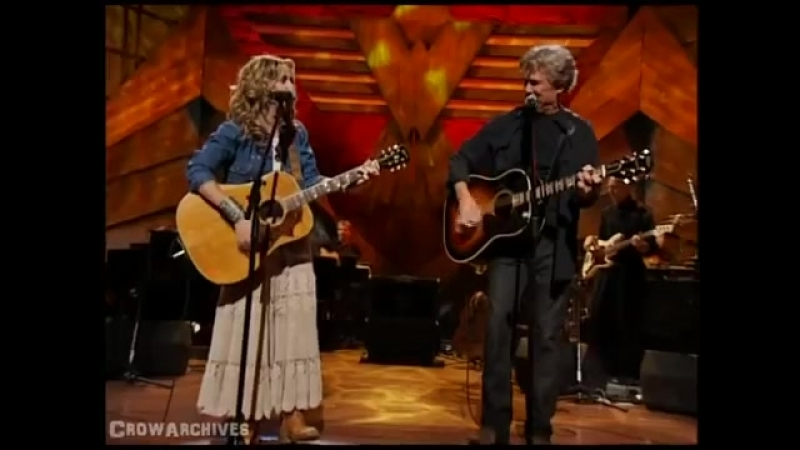 Kris Kristofferson Sheryl Crow Me And Bobby McGee Willie Nelson And Friends Live And Kickin 09 04 2003
