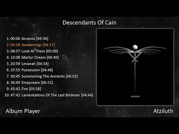 Descendants Of Cain Atziluth Full Album Player Rock Gothic