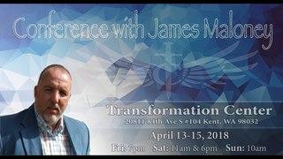 Conference with James Maloney (4 Service) Конференция с Джеймсом Малони (4 Служение)