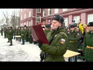 Новобранцы учебного центра Пензенского артинститута приняли присягу