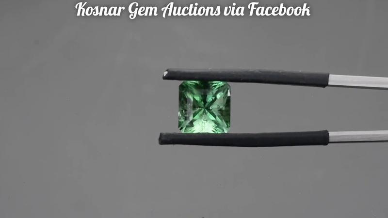Bright Green Custom English Fluorite Gemstone from KGC