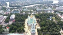 Пенза аэросъемка центра города Penza aerial view of the city center