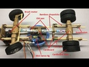 Front Axle and Rear Axle To RC Heavy Truck Off Road RC Homemade From Cardboard