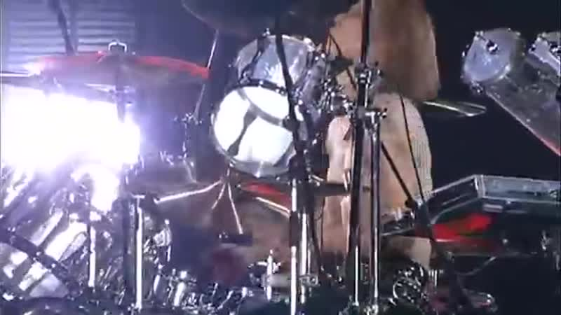Yoshiki Drum solo 1_2 - 11_16 2008.03.30 X JAPAN to resume its attack in 2008 I.