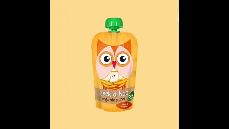 Peek-a-boo : груша и манго