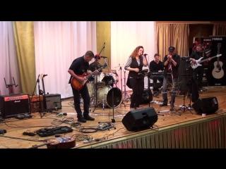 группа RockNRoll City, Ксения Николаева и лидер группы Паровоз СВ Сергей Влади