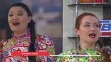 Наше УТРО на ОТВ ансамбль казачьей песни Дубрава.
