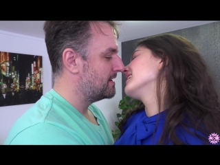 Francesca di caprio - carpaccio three way [brunette, blowjob, deep throat, doggystyle, gonzo, hardcore, facial, 1080p]