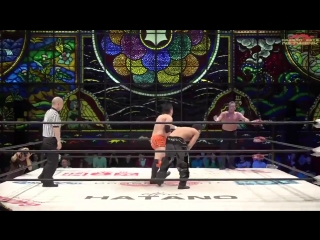 Ryo Saito, Don Fujii vs. Susumu Yokosuka, Punch Tominaga (Dragon Gate - The Gate of Passion 2018 - Day 15)