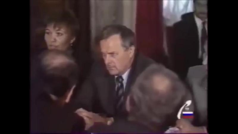 Представители западных инвеститоров в Ленинграде 23.08.1991