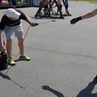 Биатлонистов сборной России на сборах в Тюмени обрабатывают репеллентом от насекомых