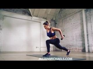 Мини-тренировка на каждый день от Джиллиан Майклс
