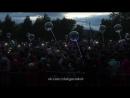 Шоу светящихся фонариков