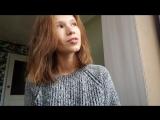 Алиса Денисова читает стихотворение А. Зайцева