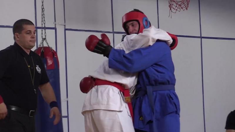 В Кузбассе определили лучших бойцов по рукопашному бою