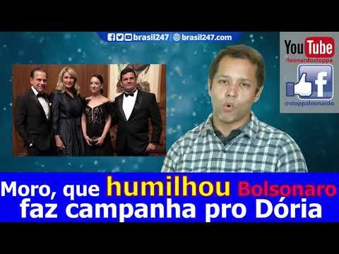 Bolsonaro HUMILHADO e Dória EXALTADO