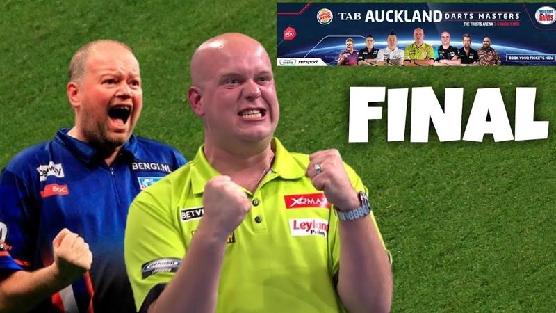 Michael van Gerwen vs Raymond van Barneveld | FINAL | 2018 Auckland Darts Masters