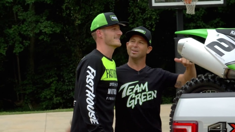 2019 Kawasaki KX450 | Tyler Hubbard and Jeremy McGrath Ride Hubbard Hills