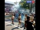 Полицейский разогнал парад