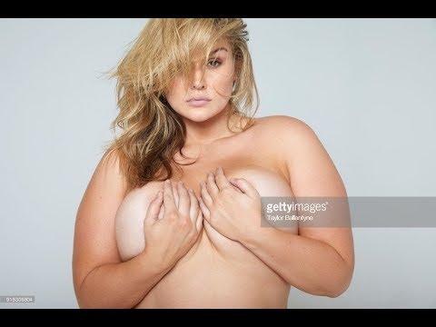 Plus Size Model Hunter McGrady Hot and Daaashing Photoshot