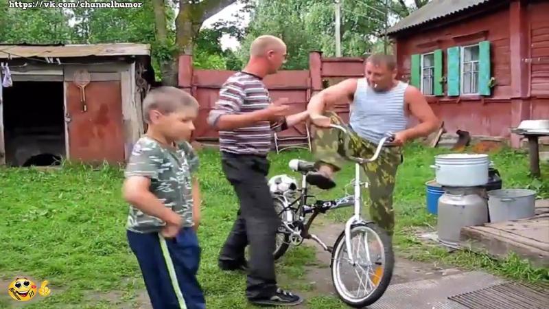 Как у нас в деревне летом ❤ Прикольное видео Ржач ПРИКОЛЮХА Смешные приколы